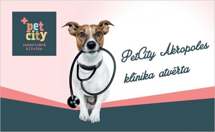 Laipni gaidīti PetCity Akropoles klīnikā!
